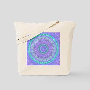 Funky Fresh Purple Mandala Tote Bag
