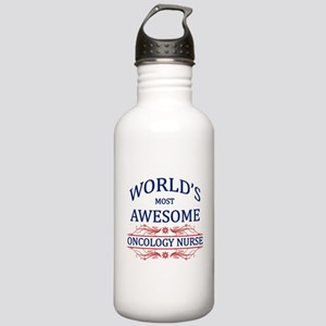 World's Most Awesome Oncology Nurse Stainless Wate