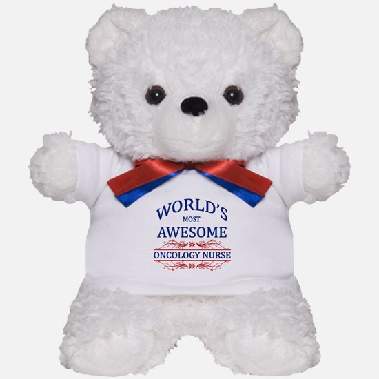 World's Most Awesome Oncology Nurse Teddy Bear