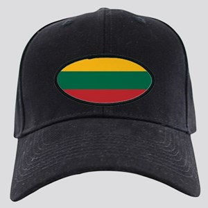 Flag of Lithuania Black Cap