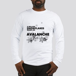 Million Snowflakes Avalanche Long Sleeve T-Shirt