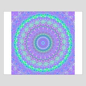 Funky Fresh Purple Mandala Poster Design