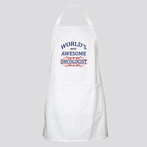 World's Most Awesome Oncologist Apron