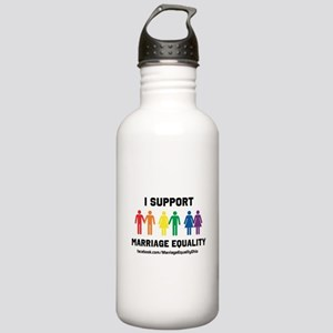 I Support Marriage Equality Water Bottle