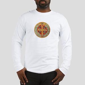 3-Benedict_Medal_Reverse-1 Long Sleeve T-Shirt