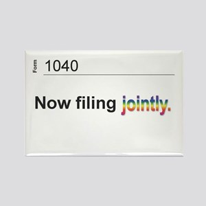 Married, Filing Jointly--Pride 2013 T-shirt Rectan