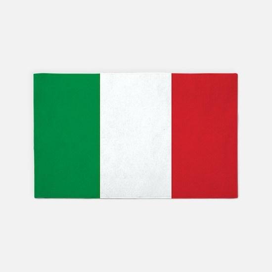 Italian Flag 3'x5' Area Rug