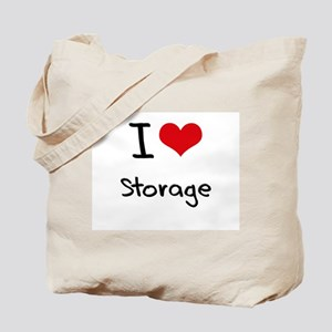 I love Storage Tote Bag
