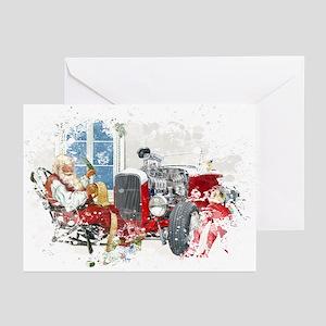 Grunge Christmas Greeting Cards 7(Pk of 10)
