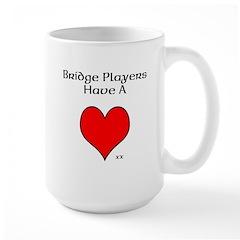 Bridge players have a heart Mugs