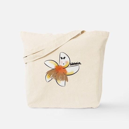 Walelia | Cute plumeria dancing hula Tote Bag