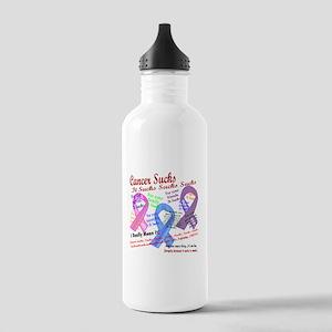 Cancer Suck Suck Sucks Multi Water Bottle