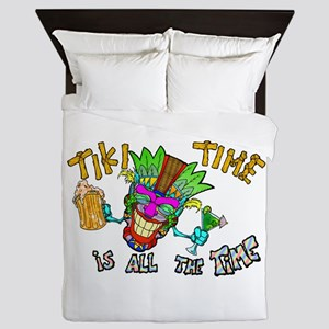 Tike Time is all the Time Queen Duvet