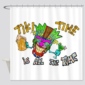 Tike Time is all the Time Shower Curtain