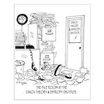 Chaos Cartoon 6292 Small Poster