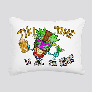 Tike Time is all the Time Rectangular Canvas Pillo