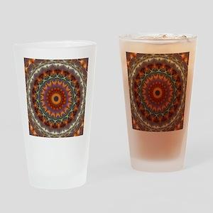 Natural Earth Mandala Drinking Glass