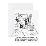 Truck Cartoon 0040 Greeting Cards (Pk of 20)