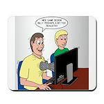 Video Game Realism Mousepad