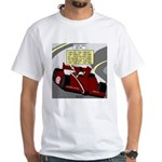 Racing GPS White T-Shirt