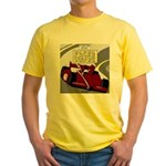 Racing GPS Yellow T-Shirt