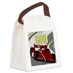Racing GPS Canvas Lunch Bag