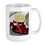 Racing GPS Large Mug