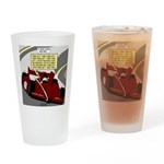 Racing GPS Drinking Glass