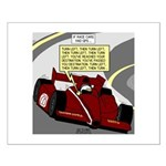 Racing GPS Small Poster