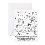 Three Line Name Greeting Cards (Pk of 10)