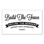 Build The Fence Sticker