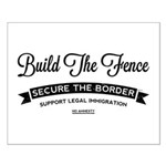 Build The Fence Posters