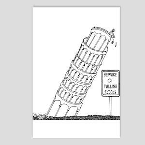Galileo Cartoon 0958 Postcards (Package of 8)