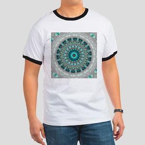 Blue Earth Mandala T-Shirt