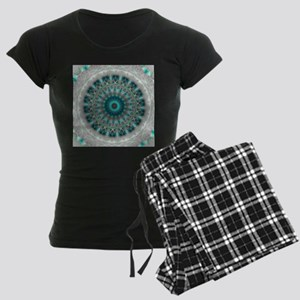 Blue Earth Mandala pajamas