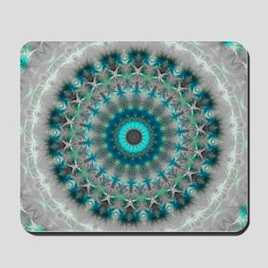 Blue Earth Mandala Mousepad