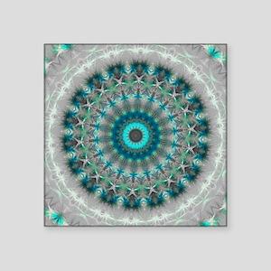 Blue Earth Mandala Sticker