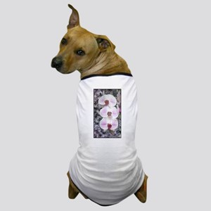 Three Orchids Dog T-Shirt
