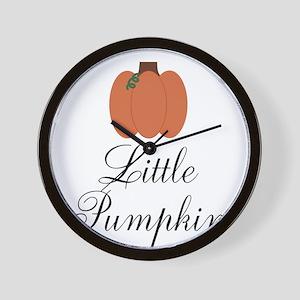 Little Pumpkin Wall Clock