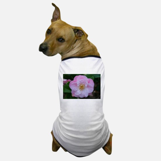 Camellia flower in bloom Dog T-Shirt