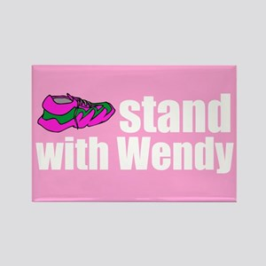 Stand with Wendy Rectangle Magnet
