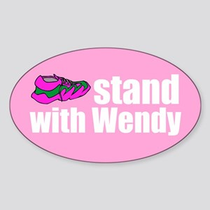 Stand with Wendy Sticker (Oval)