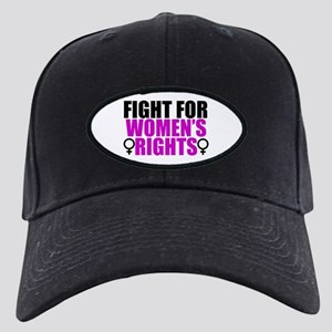 Women's Rights Black Cap