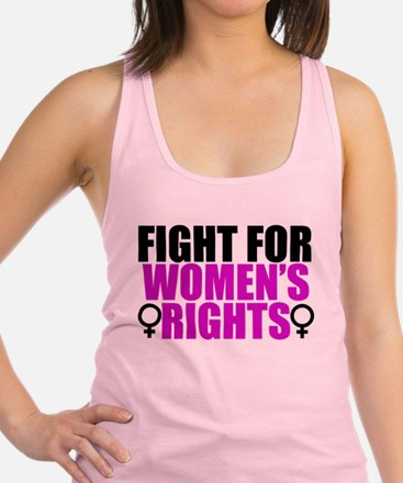 Women's Rights Racerback Tank Top