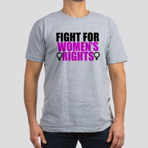Women's Rights Men's Fitted T-Shirt (dark)