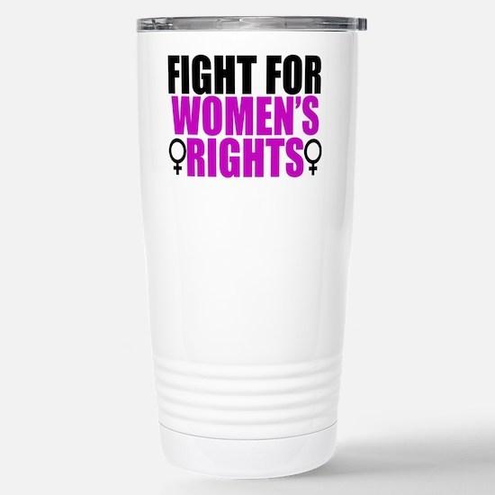 Women's Rights Stainless Steel Travel Mug