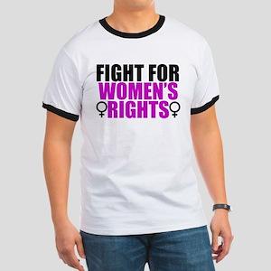 Women's Rights Ringer T