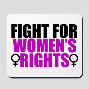 Women's Rights Mousepad