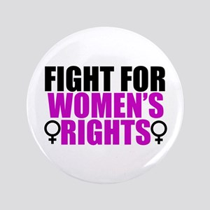 """Women's Rights 3.5"""" Button"""