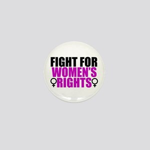 Women's Rights Mini Button